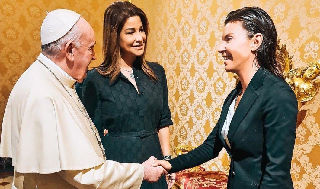 Μαρίνα Βερνίκου- Μίλτος Καμπουρίδης: Συνάντηση με τον Πάπα Φραγκίσκο στη Ρώμη - Τα χαμόγελα & το επίσημο dress code του αγαπημένου ζεύγους (φωτό- βίντεο) - Κυρίως Φωτογραφία - Gallery - Video