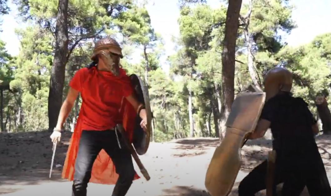 Η Μάχη των Θερμοπυλών από μαθητές - Ένα θεατρικό δρώμενο της Ελληνικής Αγωγής (βίντεο) - Κυρίως Φωτογραφία - Gallery - Video