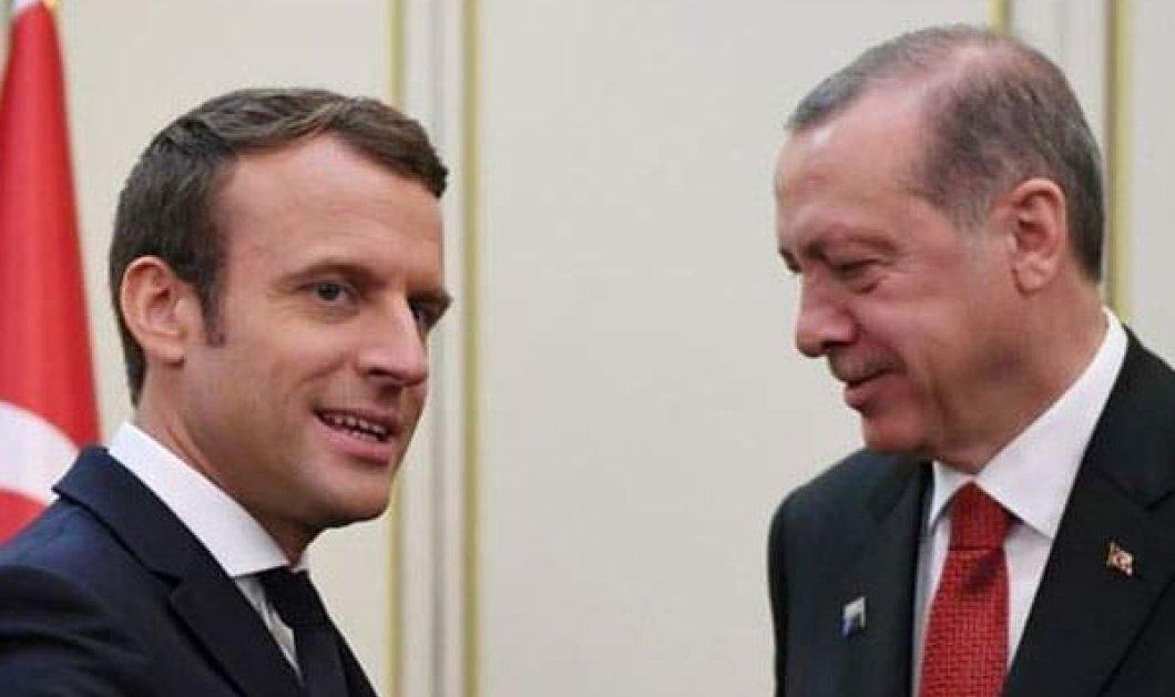 Ερντογάν: ο Μακρόν χρειάζεται ψυχίατρο - Ανακαλούμε τον πρέσβη μας στην Άγκυρα λέει το Παρίσι - Στο κόκκινο Γαλλία- Τουρκία (Φωτό & Βίντεο)  - Κυρίως Φωτογραφία - Gallery - Video