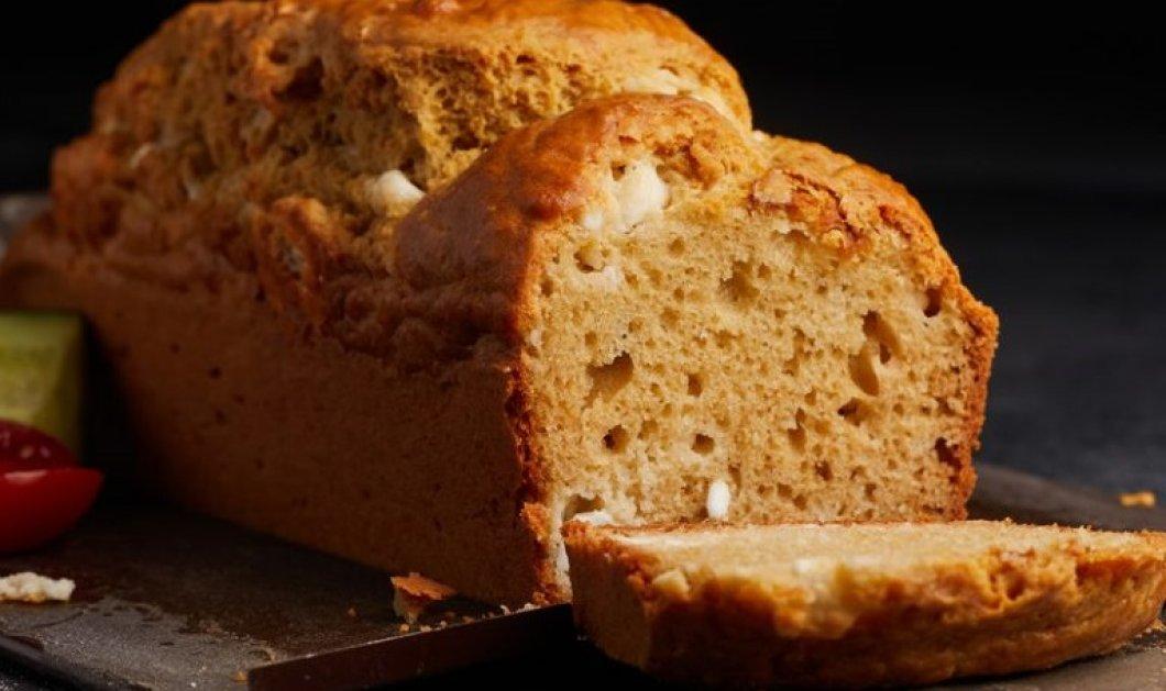 Η Αργυρώ Μπαρμπαρίγου σε μια φανταστική συνταγή: Αλμυρό κέικ με γιαούρτι & φέτα - Κυρίως Φωτογραφία - Gallery - Video