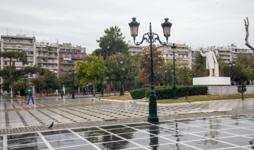 Lockdown σε Θεσσαλονίκη και Σέρρες: Tι ισχύει για τις μετακινήσεις - Τηλεκπαίδευση στα λύκεια (Φωτό & Βίτνεο)  - Κυρίως Φωτογραφία - Gallery - Video