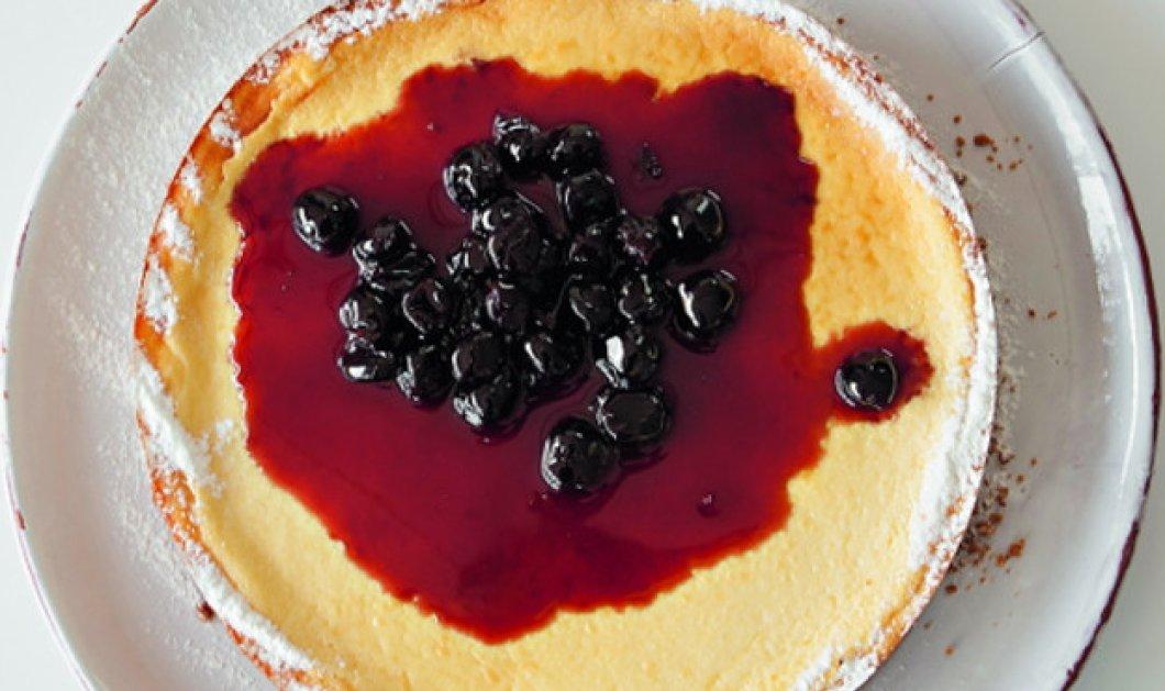 Ο Στέλιος Παρλιάρος μας προτείνει ένα υπέροχο γλυκό - Αμερικανικό τσίζκεϊκ φούρνου  - Κυρίως Φωτογραφία - Gallery - Video