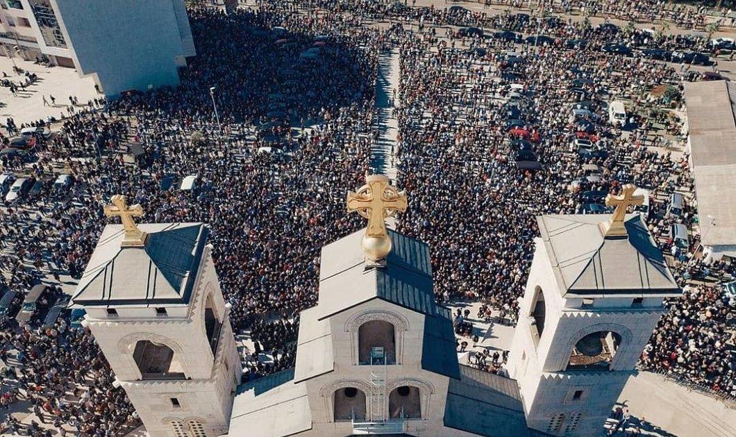Πατριάρχης Σερβίας: Η κηδεία με την λαοθάλασσα στην οποία χοροστάτησε πριν κολλήσει κορωνοϊό  & πεθάνει  - Οι φωτό σοκάρουν  - Κυρίως Φωτογραφία - Gallery - Video