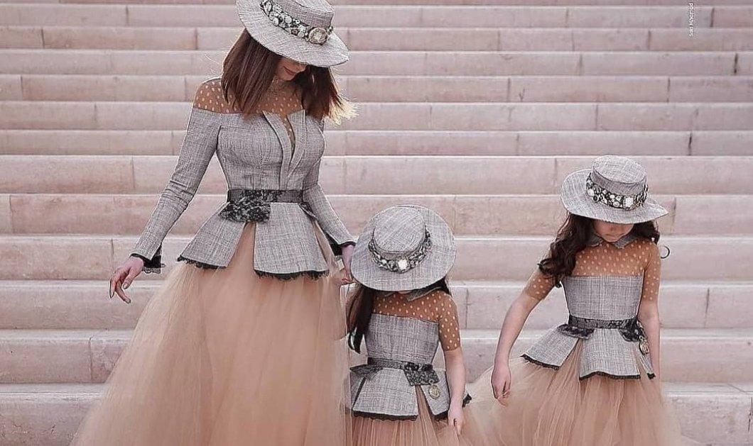 """Μαμάδες & μικρές κόρες ντυμένες ασορτί: Πως θα ταιριάξετε την εμφάνισή σας με τις """"mini me"""" (φωτό) - Κυρίως Φωτογραφία - Gallery - Video"""