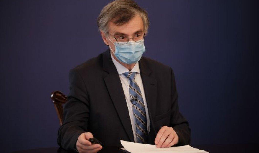Σωτήρης Τσιόδρας - Κορωνοϊός: Ο ιός κινείται με πολύ υψηλές ταχύτητες, με πολύ σημαντική μεταδοτικότητα (βίντεο) - Κυρίως Φωτογραφία - Gallery - Video