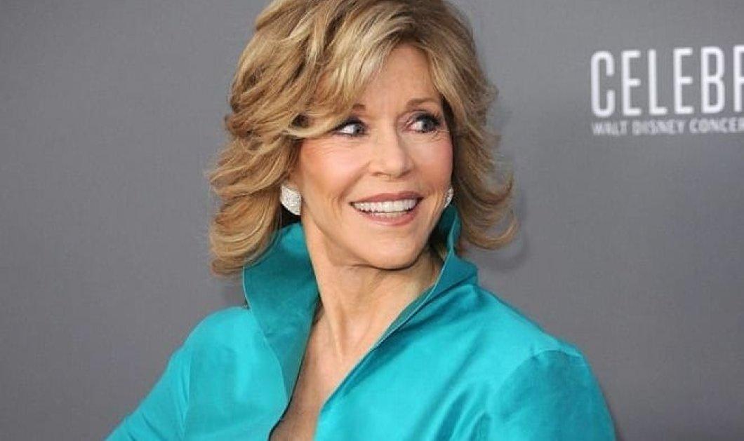 Jane Fonda: Το χριστουγεννιάτικο δέντρο- κιτς υπερπαραγωγή της διάσημης σταρ (φωτό) - Κυρίως Φωτογραφία - Gallery - Video