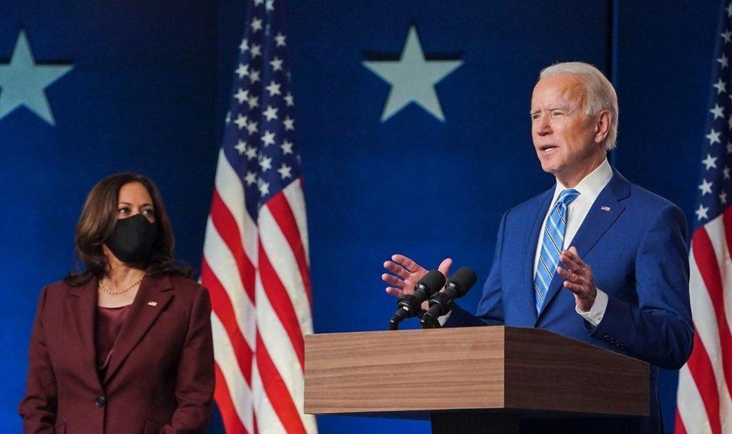 Ο Δημοκρατικός Τζο Μπάιντεν κέρδισε τις εκλογές: Είναι ο 46ος πρόεδρος των ΗΠΑ - Νίκησε & στην Πενσιλβάνια (Φωτό & Βίντεο)  - Κυρίως Φωτογραφία - Gallery - Video