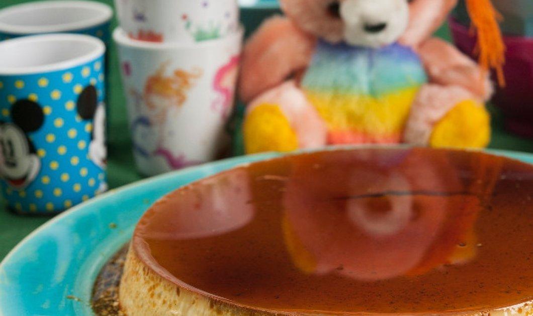 Κρεμ καραμελέ με ζαχαρούχο από τον μετρ της ζαχαροπλαστικής Στέλιο Παρλιάρο  - Κυρίως Φωτογραφία - Gallery - Video