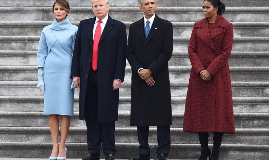 Μαλλιά κουβάρια οι Πρώτες Κυρίες: Η Μισέλ Ομπάμα κατηγορεί την Μελάνια Τραμπ πως δεν είπε μια καλή κουβέντα στην Τζιλ Μπάιντεν (Φωτό)  - Κυρίως Φωτογραφία - Gallery - Video