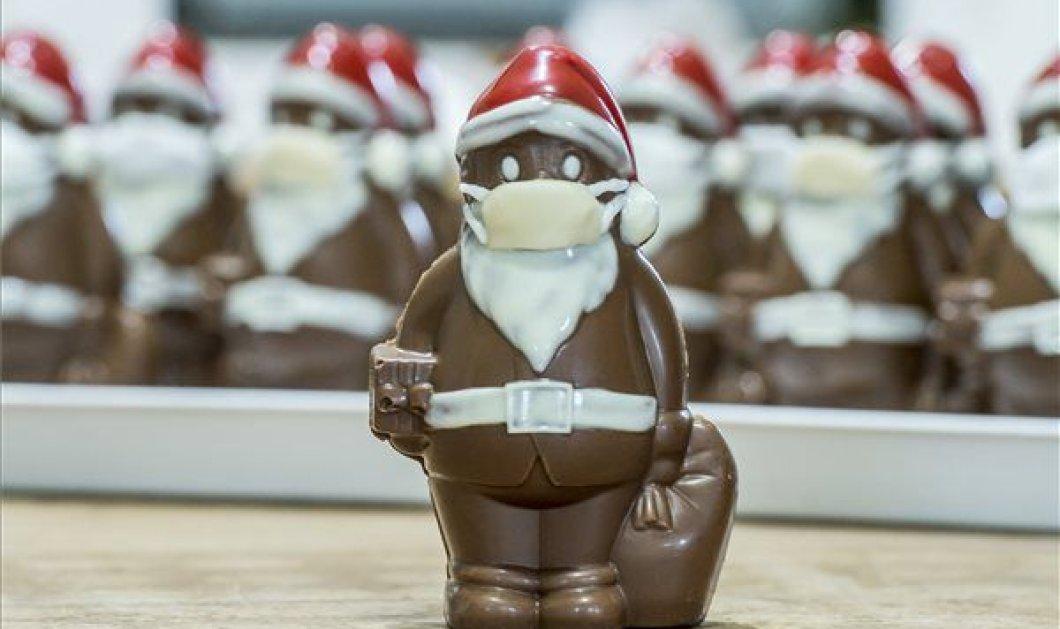 Αγιοβασίληδες από σοκολάτα.... μασκοφόροι: Ζαχαροπλαστείο στην Ουγγαρία, πρωτοπορεί & ξεπούλησε (φωτό) - Κυρίως Φωτογραφία - Gallery - Video