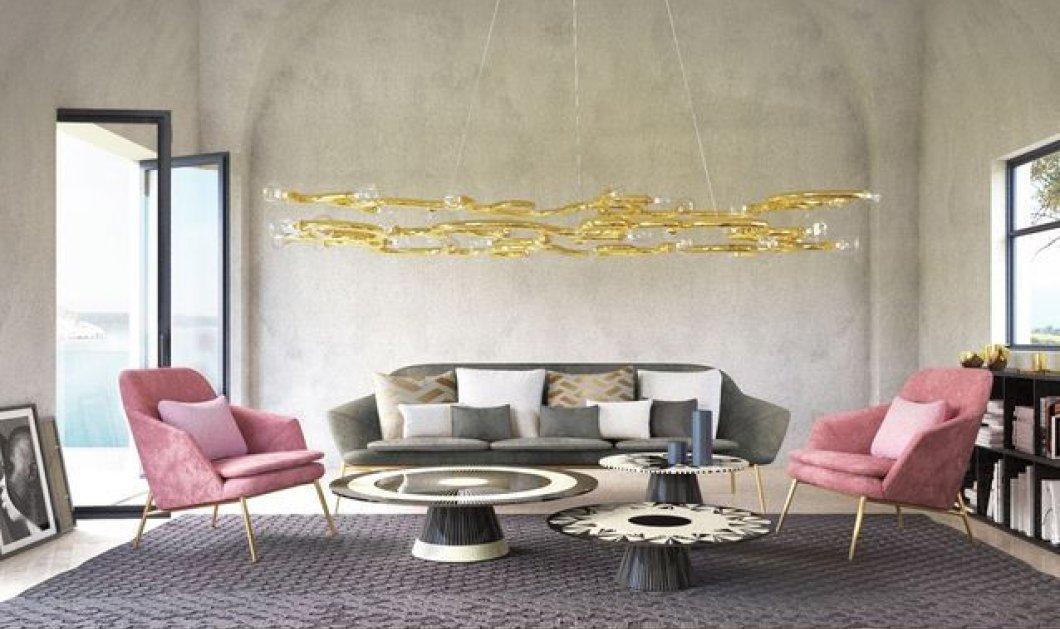 40 εντυπωσιακές ιδέες για να αλλάξει όψη το σαλόνι σας - Γαλλική φινέτσα  & στυλ (φώτο) - Κυρίως Φωτογραφία - Gallery - Video