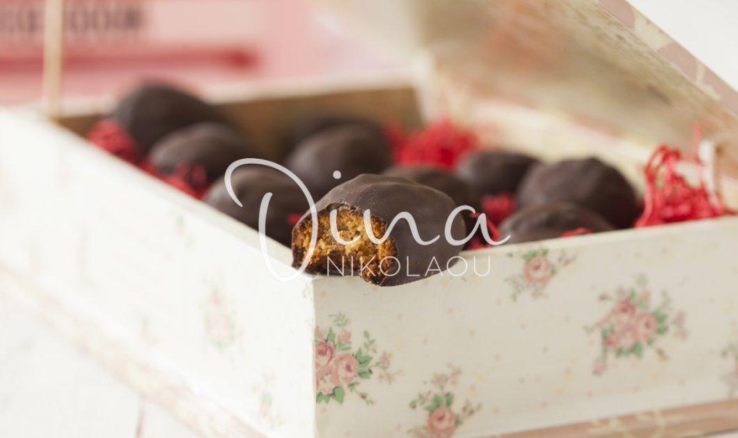 Υπέροχα σοκολατένια μελομακάρονα από την Ντίνα Νικολάου - Κυρίως Φωτογραφία - Gallery - Video
