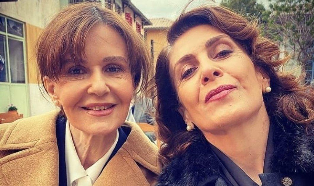 """""""Άγριες Μέλισσες"""": Οι δυο Κατερίνες της χρονιάς μαζί - Δανδουλάκη & Διδασκάλου αγαπημένες και μονιασμένες (φωτό) - Κυρίως Φωτογραφία - Gallery - Video"""