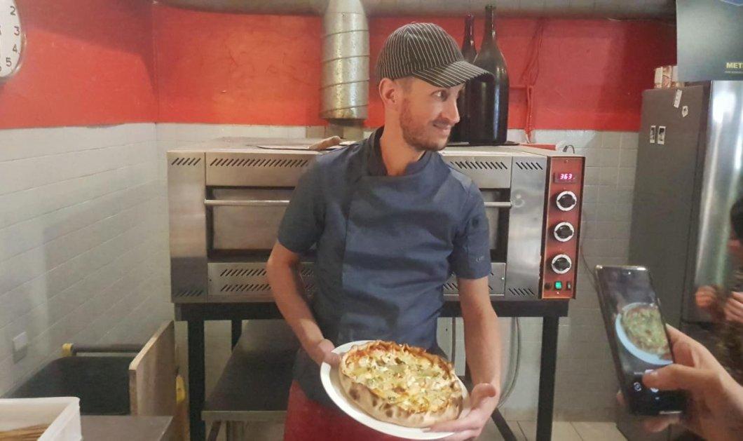 Ρεκόρ Γκίνες για την πίτσα των 1000 δολαρίων με τις 254 ποικιλίες τυριών - Την έφτιαξε ο Γάλλος σεφ Benoît Bruel (φώτο-βίντεο)  - Κυρίως Φωτογραφία - Gallery - Video