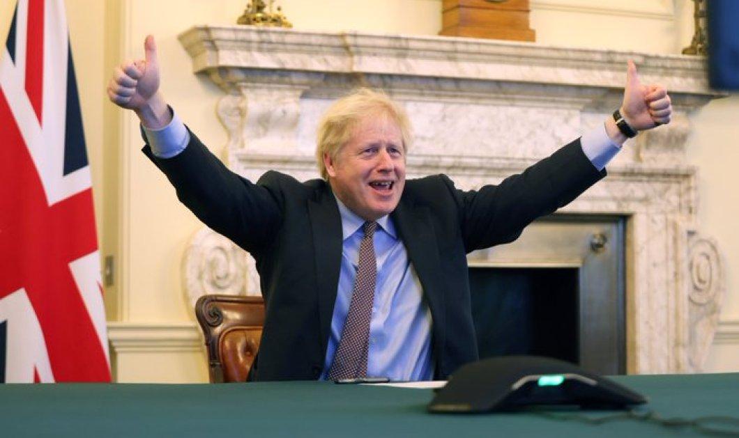 To Brexit είναι γεγονός: Ιστορική συμφωνία Βρετανίας & ΕΕ - «Η Ευρώπη προχωρά μπροστά» λέει η Ursula von der Leyen (φωτό- βίντεο) - Κυρίως Φωτογραφία - Gallery - Video