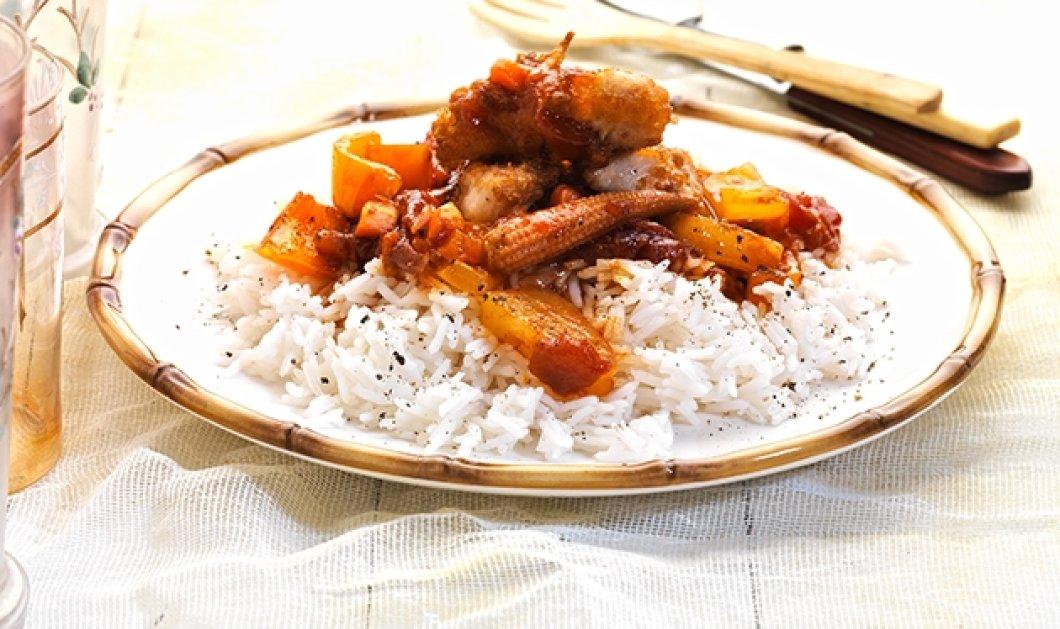 """Η Αργυρώ Μπαρμπαρίγου """"στοιχηματίζει"""" : Το Γλυκόξινο κοτόπουλο με ρύζι μπασμάτι θα γίνει το αγαπημένο μας φαγητό  - Κυρίως Φωτογραφία - Gallery - Video"""