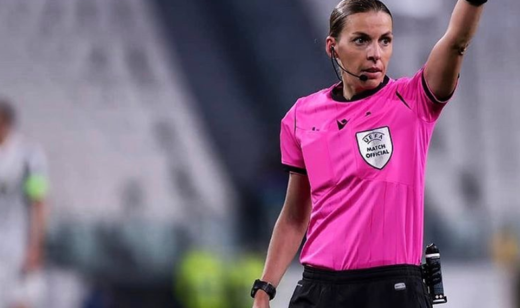 Topwoman η Στεφανί Φραπάρ - Έγινε η πρώτη  γυναίκα διαιτητής στην ιστορία του Champions League (φωτό) - Κυρίως Φωτογραφία - Gallery - Video