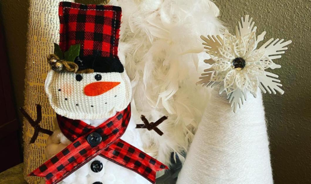 Αυτή είναι η νέα τάση στην Χριστουγεννιάτικη διακόσμηση - Δημιουργήστε χιονάνθρωπο με το δέντρο σας (φωτό) - Κυρίως Φωτογραφία - Gallery - Video
