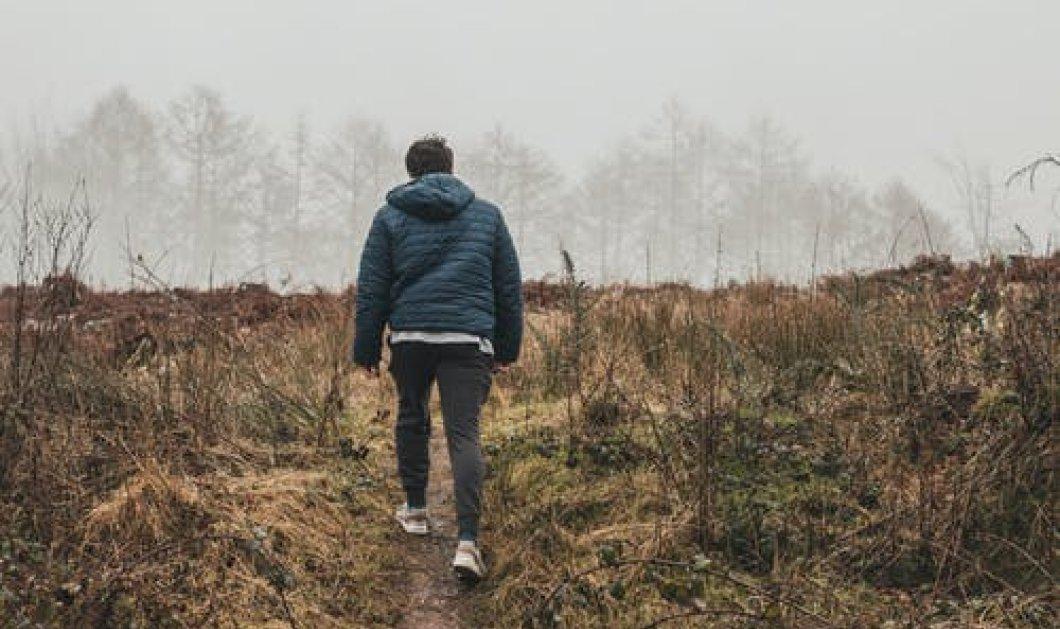 Ιταλός τσακώθηκε με την γυναίκα του & βγήκε για βόλτα να ηρεμήσει - Γύρισε μετά από 7 ημέρες & 420 χλμ.  - Κυρίως Φωτογραφία - Gallery - Video