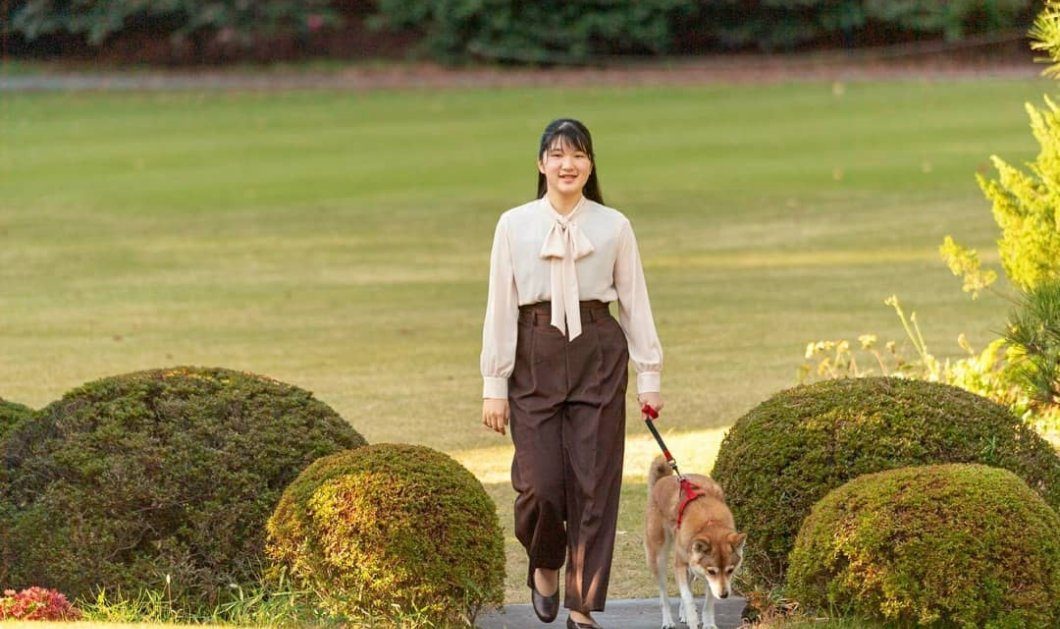 Τα 19 έκλεισε η πριγκίπισσα Aiko της Ιαπωνίας, μοναχοκόρη του Αυτοκράτορα Ναρουχίτο- Η φωτογράφιση στους εντυπωσιακούς κήπους του παλατιού - Κυρίως Φωτογραφία - Gallery - Video