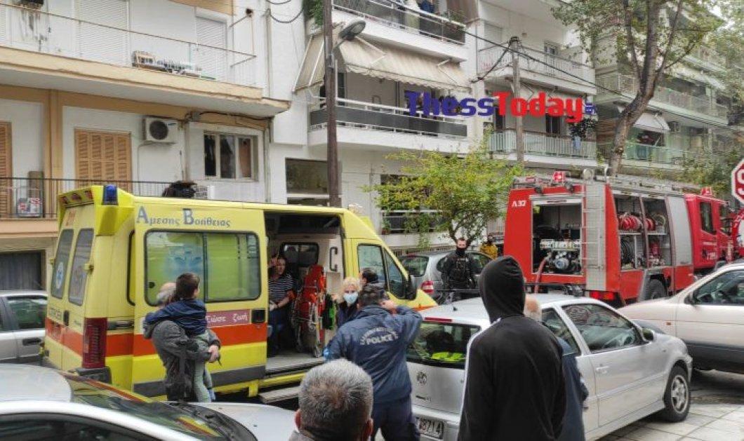 Θεσσαλονίκη: Φωτιά σε διαμέρισμα - Νεκρός ένας 16χρονος (Φωτό & Βίντεο)  - Κυρίως Φωτογραφία - Gallery - Video