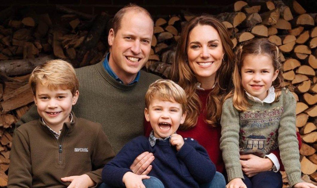 Η ωραιότερη φωτό του πρίγκιπα William, της πριγκίπισσας Kate & των παιδιών τους για τα Χριστούγεννα- Φέτος θα περάσουν μόνοι τις γιορτές στο εξοχικό τους - Κυρίως Φωτογραφία - Gallery - Video