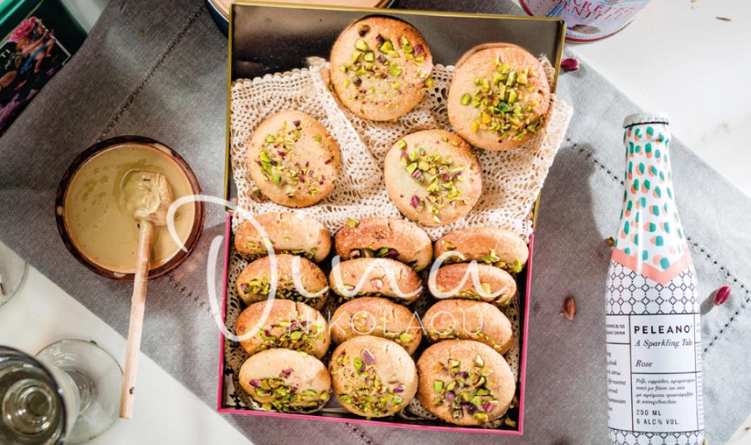 Η Ντίνα Νικολάoυ δημιουργεί: Απίστευτα vegan μπισκότα με αμύγδαλο και ταχίνι  - Κυρίως Φωτογραφία - Gallery - Video