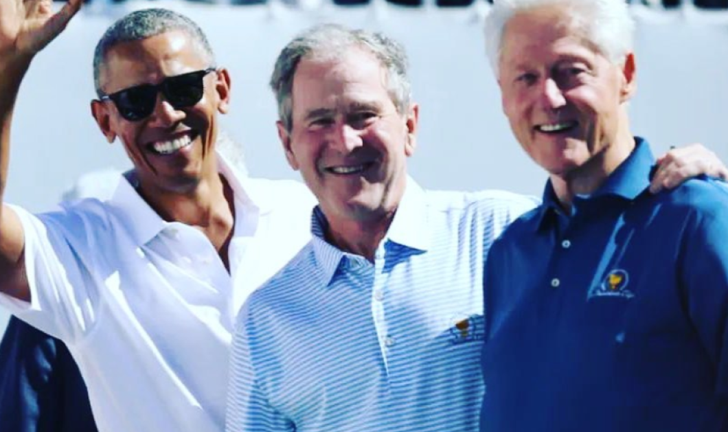 Good news - Covid-19: Τρεις πρώην πρόεδροι των ΗΠΑ δηλώνουν έτοιμοι να εμβολιαστούν δημοσίως - Ομπάμα, Τζορτζ Ου. Μπους & Μπιλ Κλίντον  - Κυρίως Φωτογραφία - Gallery - Video