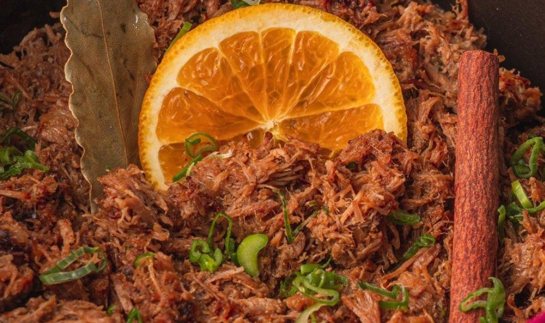Σιγομαγειρεμένο χοιρινό με πορτοκάλι και μπαχαρικά από τον Γιάννη Λουκάκο - Κυρίως Φωτογραφία - Gallery - Video