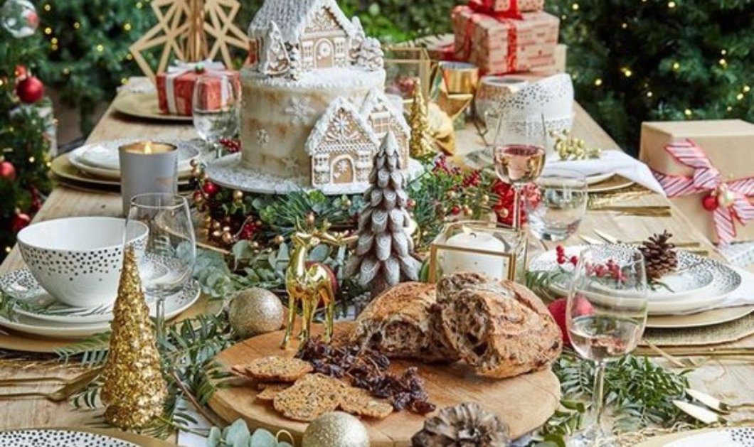 Γιορτινές γαστρονομικές δημιουργίες από τον Γιώργο Αλευρά - Φέτος τις γιορτές σας φέρνουμε το πιο νόστιμο τραπέζι…στο σπίτι σας!  - Κυρίως Φωτογραφία - Gallery - Video