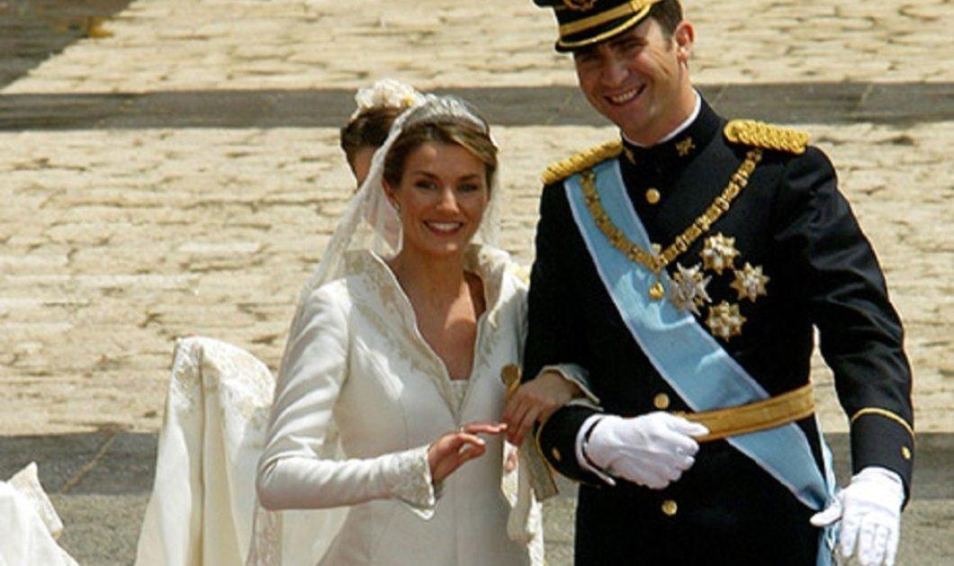 Αυτά είναι τα 7 πιο ακριβά νυφικά που φόρεσαν οι γαλαζοαίματες - Από τη βασίλισσα Ελισάβετ στην βασίλισσα Λετίσια (φώτο)  - Κυρίως Φωτογραφία - Gallery - Video