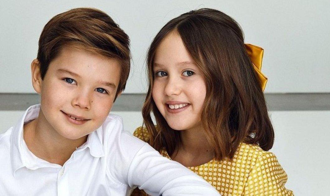 10 χρονών έγιναν τα δίδυμα βασιλόπουλα της Δανίας! Η πριγκίπισσα Josephine και ο πρίγκιπας Vincent γιορτάζουν με χαμόγελα & αγκαλιές (φωτό) - Κυρίως Φωτογραφία - Gallery - Video