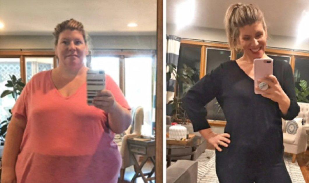 Η απίστευτη αλλαγή 39χρονης: Έχασε 93 κιλά! - Είχε πάρει βάρος μετά από 3 συνεχείς εγκυμοσύνες (βίντεο) - Κυρίως Φωτογραφία - Gallery - Video