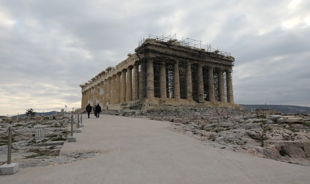 COSMOTE: Δωρεάν ασύρματο Internet για τους επισκέπτες στον αρχαιολογικό χώρο της Ακρόπολης και στο Ηρώδειο - Κυρίως Φωτογραφία - Gallery - Video