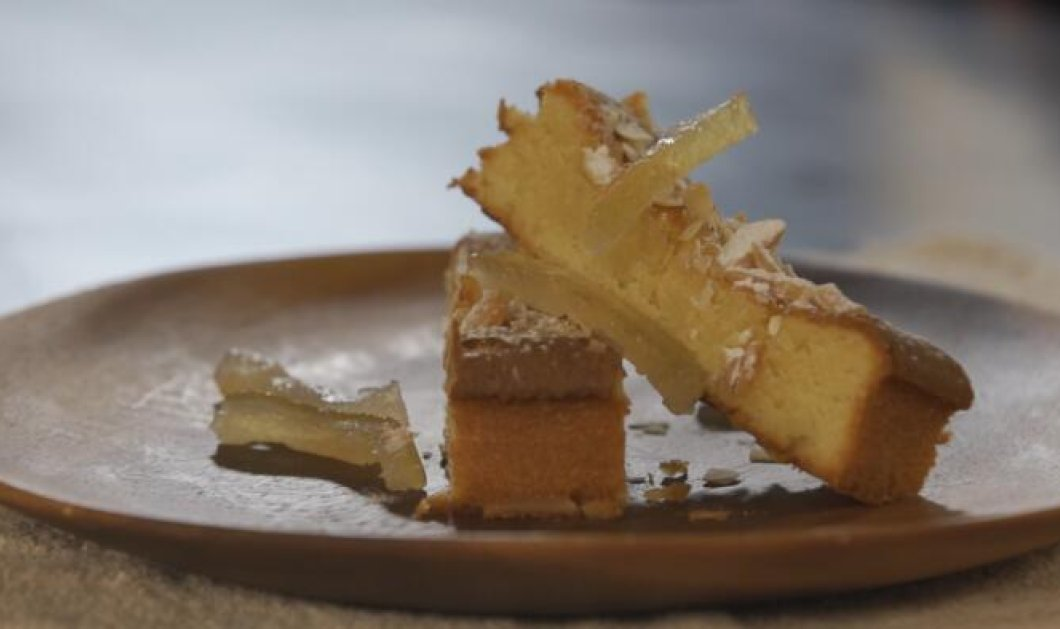 Ένα ιδιαίτερο γλυκό από τον Στέλιο Παρλιάρο- Συγκλονιστική αμυγδαλόπιτα με αμυγδαλόπαστα - Κυρίως Φωτογραφία - Gallery - Video