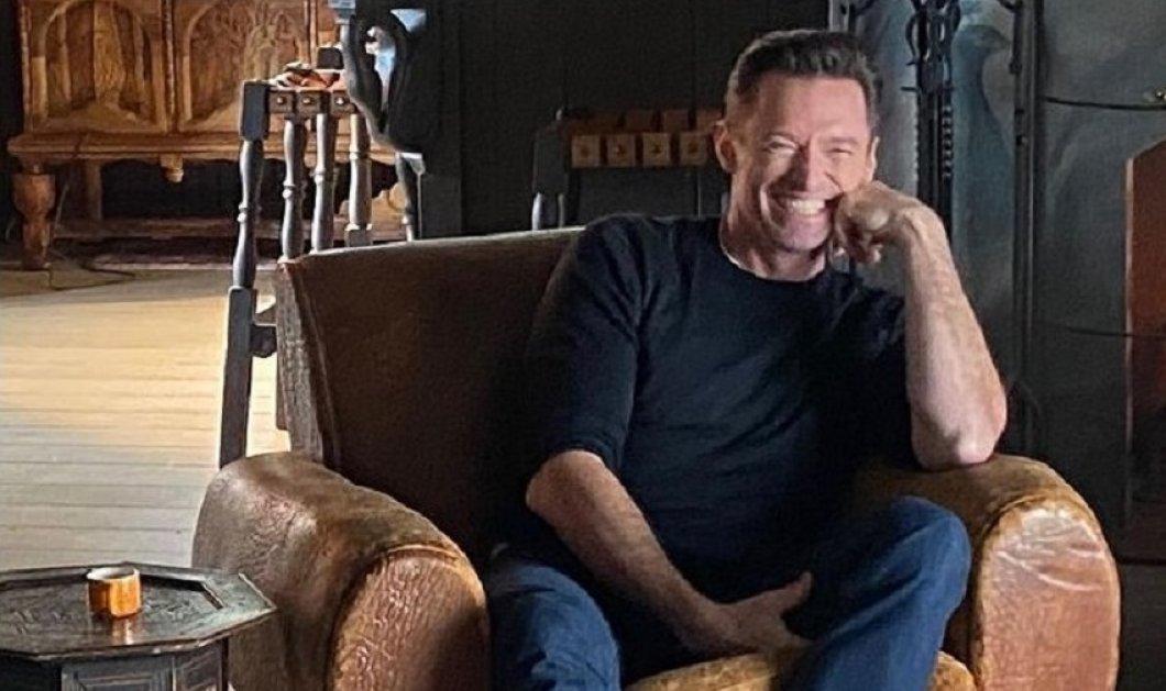 """Σας βεβαιώ θα γελάσετε μέχρι δακρύων & κλείνω το τηλέφωνο μου """" : Ποια σειρά του Netflix παρακολουθεί φανατικά ο  Hugh Jackman ; (βίντεο) - Κυρίως Φωτογραφία - Gallery - Video"""