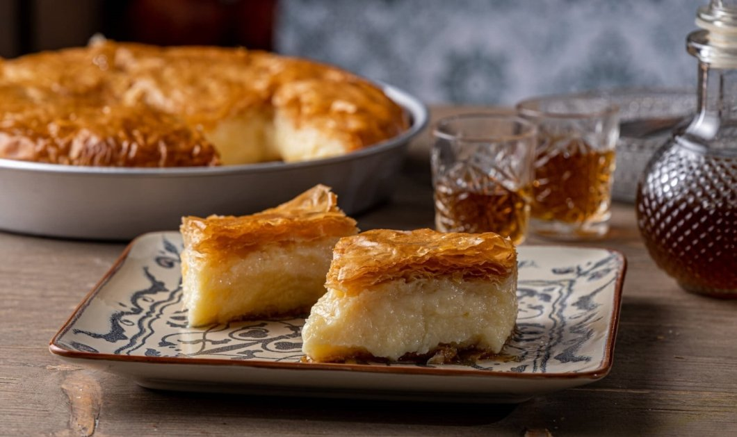 Η Αργυρώ Μπαρμπαρίγου δίνει τη συνταγή για τέλειο γαλακτομπούρεκο - To all time classic αγαπημένο γλυκό στα καλύτερα του  - Κυρίως Φωτογραφία - Gallery - Video