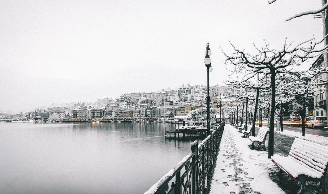 Καιρός: Πλησιάζει ο ''Λέανδρος'' - Κρύο και καταιγίδες πριν τον χιονιά - Κυρίως Φωτογραφία - Gallery - Video