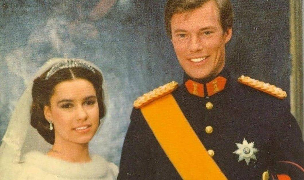Vintage pics από το Παλάτι του Λουξεμβούργου: Ο Μέγας Δούκας Henri & η María Teresa του ήταν από τα ωραιότερα ζευγάρια των 80s- Ο γάμος, τα 5 παιδιά & οι φωτό μεγάλου έρωτα - Κυρίως Φωτογραφία - Gallery - Video