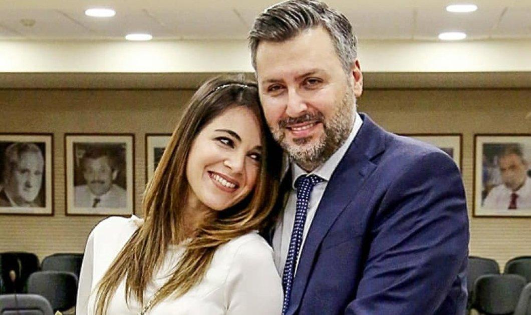Γιάννης Καλλιάνος- Χάρις Δαμιανού: Παντρεύτηκαν εν μέσω lockdown- Οι όμορφες φωτό από τον γάμο του μετεωρολόγου & βουλευτή της ΝΔ με την κούκλα δερματολόγο - Κυρίως Φωτογραφία - Gallery - Video