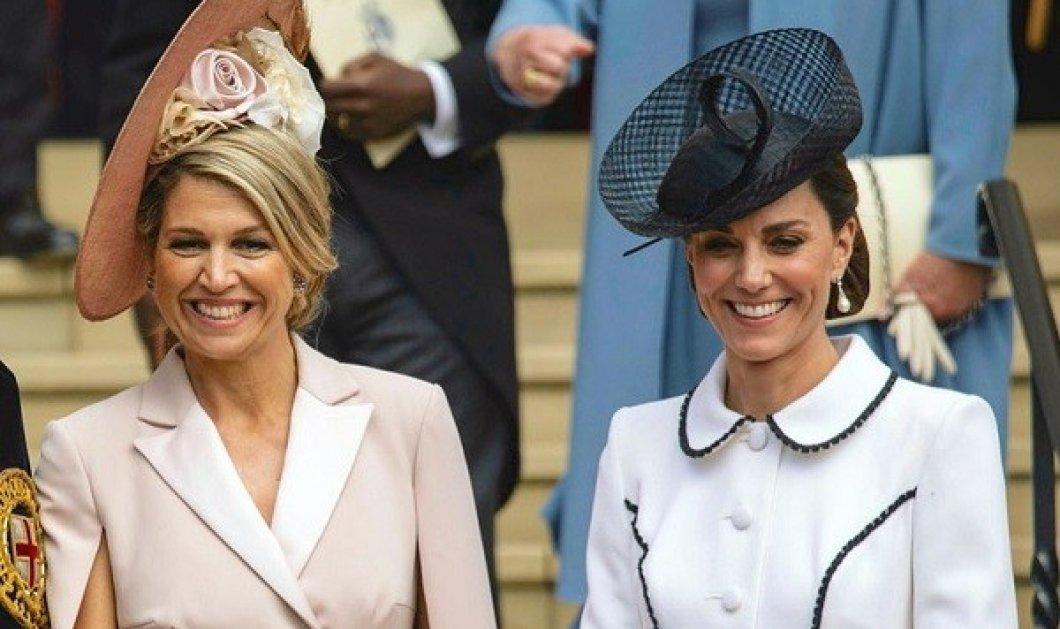 Βασίλισσες και πριγκίπισσες εύχονται στην Kate Middleton - Η βασίλισσα Maxima της Ολλανδίας, η Mathilde του Βελγίου και η Mary της Δανίας - Κυρίως Φωτογραφία - Gallery - Video