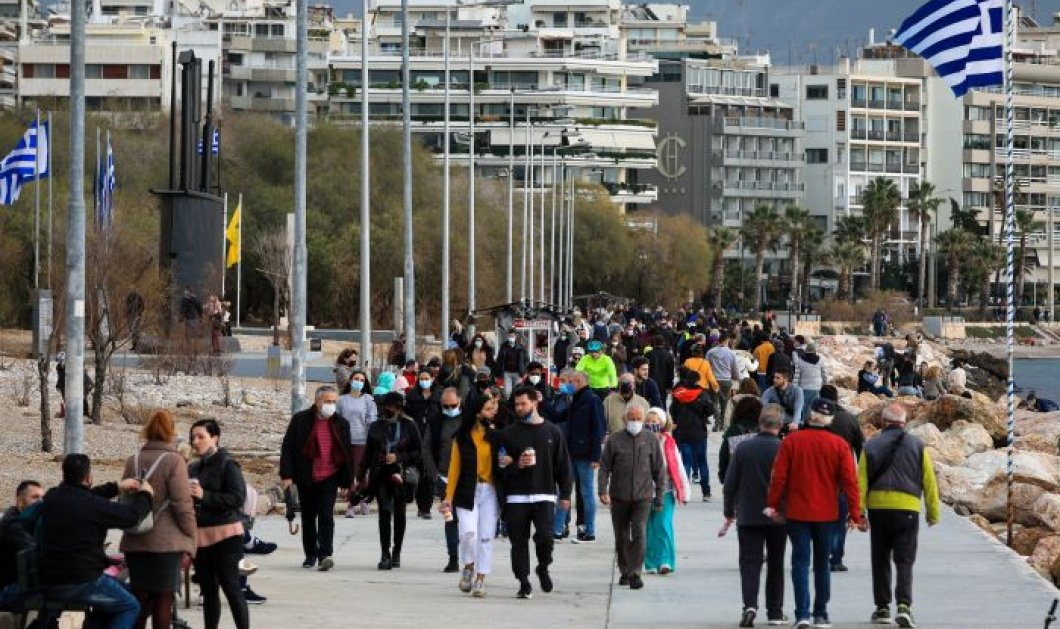 Κορωνοϊός - Ελλάδα: 516 νέα κρούσματα -27 νεκροί, 300 διασωληνωμένοι - Κυρίως Φωτογραφία - Gallery - Video