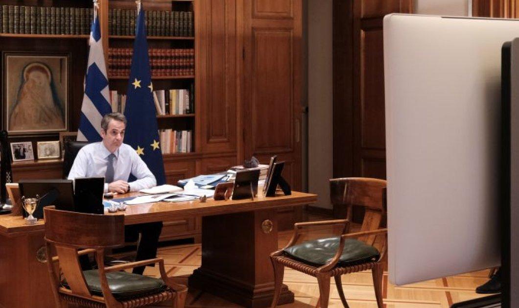 Μητσοτάκης σε ΕΕ: Οι εμβολιασμοί πρέπει να προχωρήσουν πιο γρήγορα - Να γίνει έγκριση του εμβολίου της Astra Zeneca  - Κυρίως Φωτογραφία - Gallery - Video