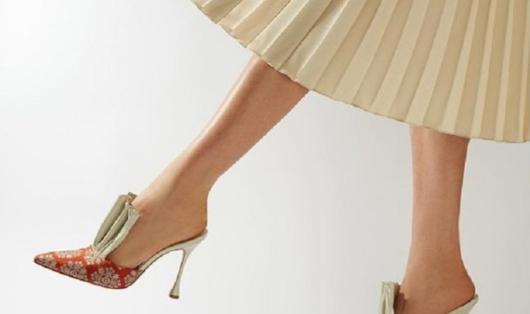 """Δείτε τα νέα παπούτσια- όνειρο του """"βασιλιά"""" Manolo - Ιβάνκα & Μελάνια Τραμπ - Καμίλα Χάρις ανάμεσα στις """"φανατικές"""" πελάτισσες του (φώτο) - Κυρίως Φωτογραφία - Gallery - Video"""