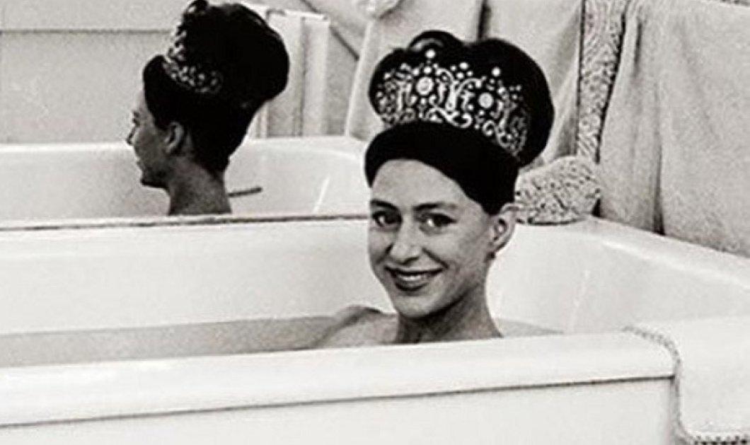 Vintage pic: Μια βασίλισσα με τιάρα μέσα στην μπανιέρα της - Η πιο «ακραία» φωτογραφία της πριγκίπισσας Μαργαρίτας στο λουτρό της - Κυρίως Φωτογραφία - Gallery - Video
