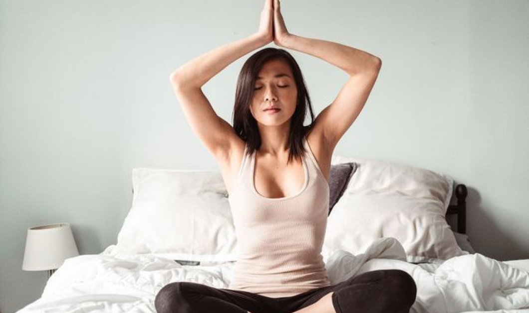 Όνειρα γλυκά : 5 απλές ασκήσεις γιόγκα για τον πιο ήσυχο & ξεκούραστο ύπνο - Τέλος στο στρες & την αϋπνία (φώτο)  - Κυρίως Φωτογραφία - Gallery - Video