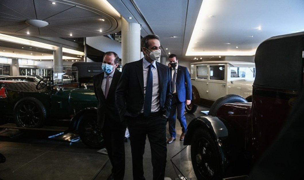 Στο Μουσείο Αυτοκινήτου ο Κυριάκος Μητσοτάκης: Τι προβλέπει το Εθνικό Σχέδιο Οδικής Ασφάλειας που παρουσιάστηκε (φωτό & βίντεο) - Κυρίως Φωτογραφία - Gallery - Video