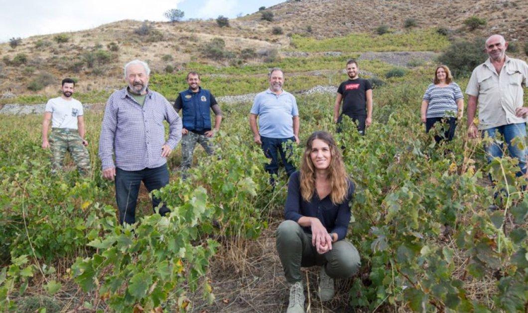 Topwoman η Ηλιάνα: Στα 25 της έβγαλε το πρώτο της κρασί - Φιλοδοξεί να κάνει το Ρέθυμνο μια μικρή Βουργουνδία  - Κυρίως Φωτογραφία - Gallery - Video
