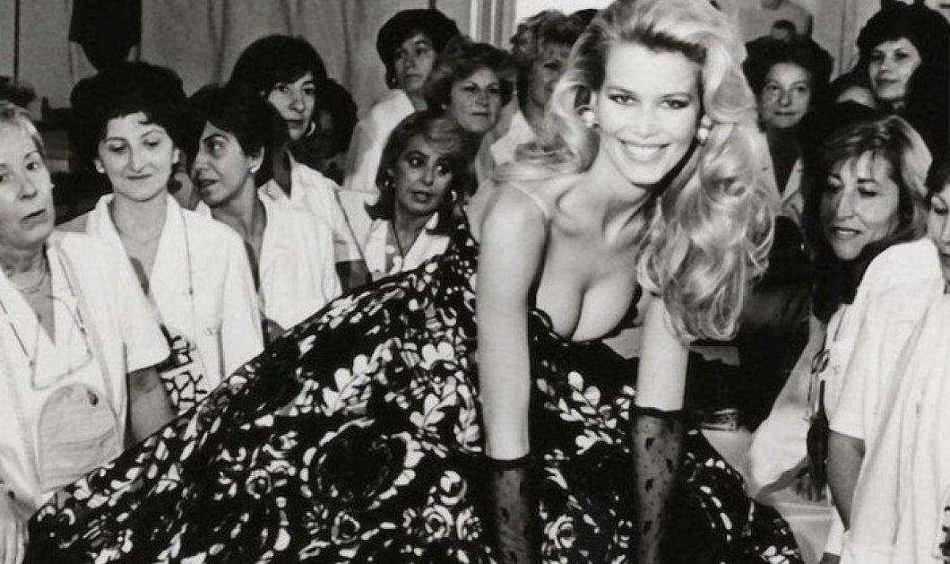 Πανευτυχής μανούλα η Κλόντια Σίφερ: Το αγοράκι μου έγινε άντρας - Θεά στο εξώφυλλο της Vogue με τον 18χρονο σήμερα Κασπάρ μωρό (φώτο) - Κυρίως Φωτογραφία - Gallery - Video