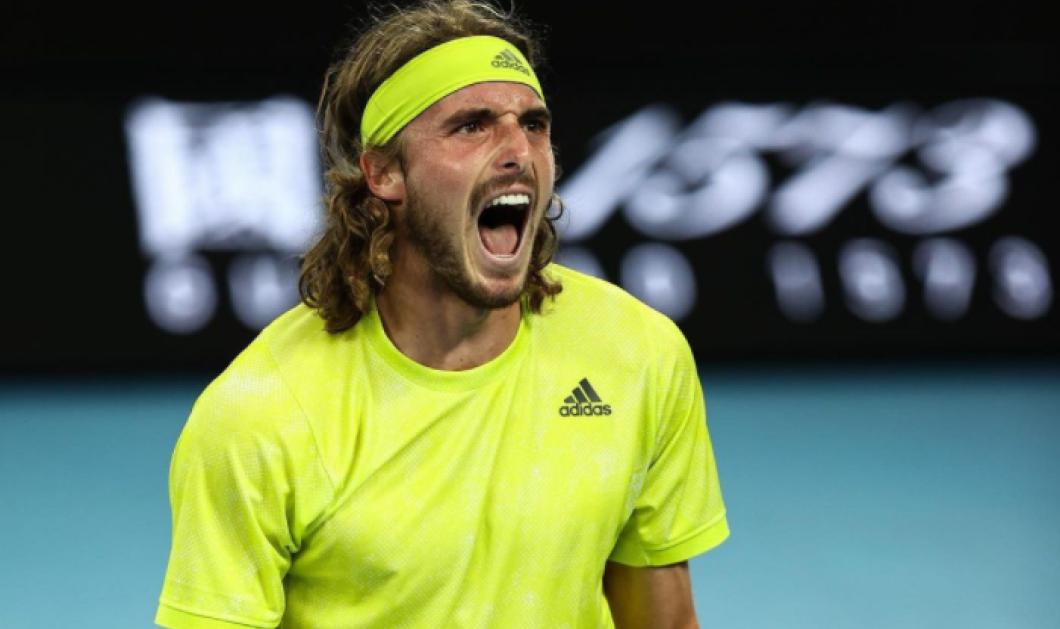 Australian Open: Με μυθική ανατροπή ο Στέφανος Τσιτσιπάς στους «4» - Νίκησε τον Ναδάλ  3-2 σετ (φωτό - βίντεο)  - Κυρίως Φωτογραφία - Gallery - Video